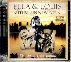Ella Fitzgerald & Louis Armstrong - Autumn in New York (2008) [SACD]