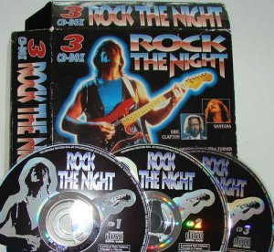 VA - Rock The Night [3CD Box Set] (1995)