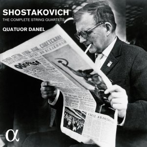 Quatuor Danel - Shostakovich: The Complete String Quartets (2016)