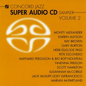 VA - Concord Jazz Super Audio CD Sampler Volume 2 (2004) [SACD]
