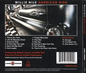Willie Nile - American Ride [Expanded Edition] (2013)