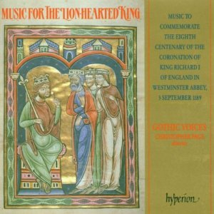 Gothic Voices & Christopher Page - Music For The Lion-Hearted King (1989)