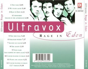 Ultravox - Rage In Eden (1981) [1997]