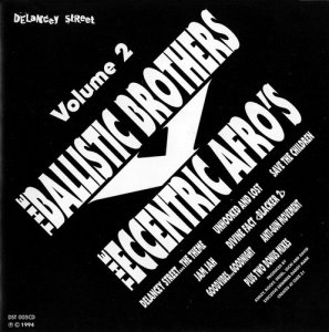 The Ballistic Brothers Vs The Eccentric Afro's - Volume 2 (1994)