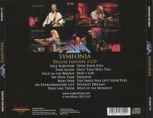 Asia - Symfonia: Live In Bulgaria 2013 [2CD] (2017)