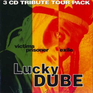 Lucky Dube - Victims, Prisoner, House Of Exile [3 CD Tribute Tour Pack] (1995)
