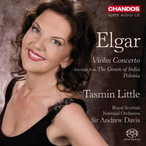 Tasmin Little / Andrew Davis - Elgar: Violin Concerto; Interlude From The Crown Of India & Polonia (2010)