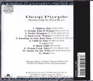 Deep Purple - Nobody's Perfect [Japan] (1990)