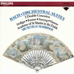 Neville Marriner & Academy Of St. Martin In The Fields - Bach: Orchestral Suites, 2 Double Concertos (1990)