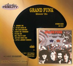 Grand Funk Railroad - Shinin' On (Limited edition) [1974] (2017)