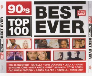 VA - 90's Top 100 Best Ever (3 CD) (2010)