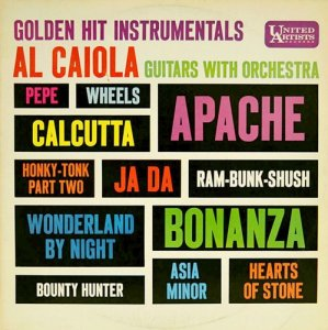 Al Caiola And His Orchestra - Golden Hit Instrumentals (1961)
