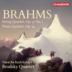 The Brodsky Quartet & Natacha Kudritskaya - Brahms: String Quartet, Op. 51 No. 1; Piano Quintet, Op. 34 (2016)