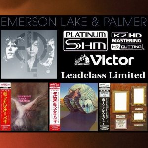 Emerson, Lake & Palmer - 3 Albums Mini LP PT-SHM K2HD 1970-71 [Victor Japan] (2014)