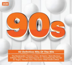 VA - 60 Definitive Hits Of The 90s [3CD Box Set] (2016)