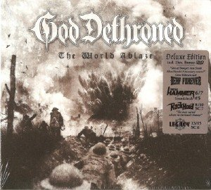 God Dethroned - The World Ablaze (2017) [DVD9]