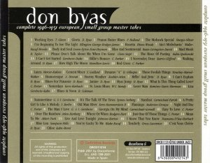 Don Byas - Complete 1946-1951 European Small Group Master Takes [3CD] (2001)