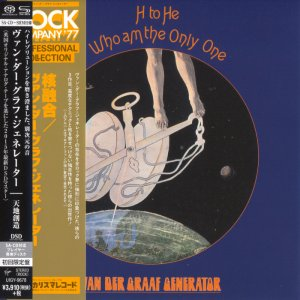 Van Der Graaf Generator - H To He, Who Am The Only One (1970) [Japanese Limited SHM-SACD 2015] PS3 ISO + HDTracks