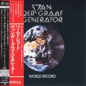 Van Der Graaf Generator - World Record (1976) [Japanese Limited SHM-SACD 2015] PS3 ISO + HDTracks