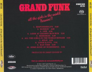 Grand Funk - All The Girls In The World Beware!!! (1974) [Hybrid SACD 2017] PS3 ISO + HDTracks