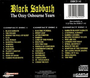Black Sabbath - The Ozzy Osbourne Years [3CD Boxset] (1991)