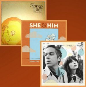 She & Him - Volume 1-3 (2008-2013)