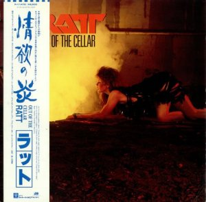 Ratt - Out Of The Cellar [Japan LP] (1984)