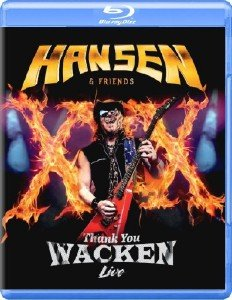 Hansen & Friends - Thank You Wacken (2017) [Blu-ray]