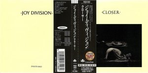 Joy Division - Collection of non-remastered Japanese Editions (1993, 1995)