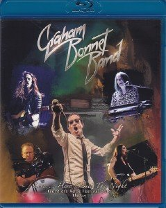 Graham Bonnet Band - Live...Here Comes The Night - Frontiers Rock Festival 2016 (2017) [Blu-ray]