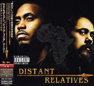 Nas & Damian Marley - Distant Relatives (Japan Edition) (2010)