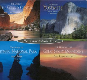 VA - The National Parks Series Box: Grand Canyon/Yosemite/Olympic National Park/Great Smoky Moun [4CD Box Set] (1995)
