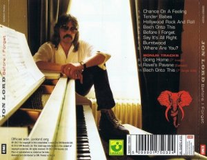 Jon Lord - Before I Forget 1982 (2012)