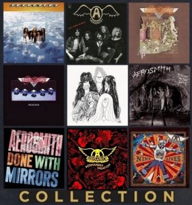 Aerosmith - Collection: 9 Albums 1973 - 1997 (2012 - 2015) [HDTracks]