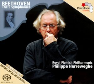 Philippe Herreweghe/Royal Flemish Philharmonic - Beethoven: The 9 Symphonies [5CD] (2011)