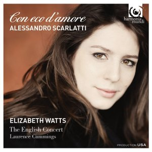 Elizabeth Watts, The English Concert, Laurence Cummings - Alessandro Scarlatti: Con eco d'amore (2015) [HDTracks]