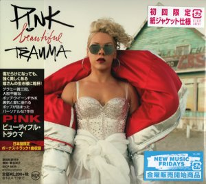 P!nk - Beautiful Trauma (2017) (Japan Edition)