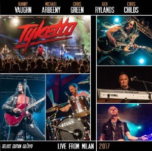 Tyketto - Live From Milan (2017) [BDRip 1080p]