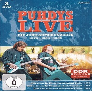 Puhdys - Live Die Jubilaumskonzerte 1979-1984-1989 (2016) [3xDVD5]