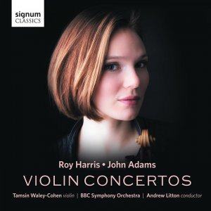 Tamsin Waley-Cohen, BBC Symphony Orchestra, Andrew Litton - Roy Harris, John Adams: Violin Concertos (2016) [HDTracks]