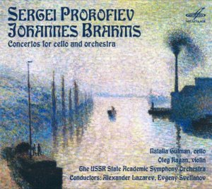 Natalia Gutman & Oleg Kagan - Prokofiev, Brahms: Concertos for cello and orchestra (2015)