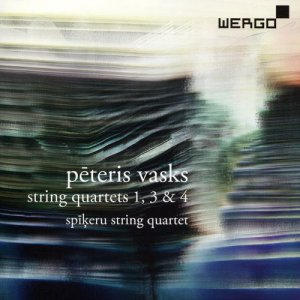 Spikeru String Quartet - Peteris Vasks: String Quartets 1, 3 & 4 (2016)