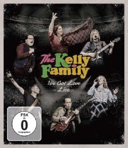 The Kelly Family - We Got Love -  Live (2017) [Blu-ray]