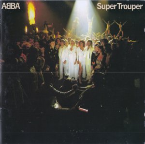 Abba - Super Trouper (1st Press RED CD) (1980)