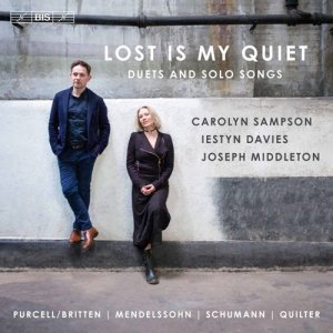 Carolyn Sampson, Iestyn Davies & Joseph Middleton - Lost Is My Quiet (2017)