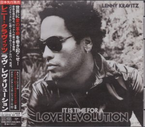 Lenny Kravitz - It Is Time for a Love Revolution [Japan Deluxe Edition] (2008)