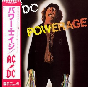 AC/DC - Powerage [Japan LP] (1978)
