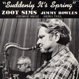 Zoot Sims - Suddenly It's Spring [LP] (1983)