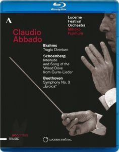 Claudio Abbado Conducts Brahms, Schoenberg & Beethoven: Works for Orchestra – Lucerne Festival Opening Concert (2014) [Blu-Ray 1080i]