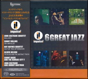 VA - Impulse! 6 Great Jazz - Super Audio CD Jazz Collection [Japan] (2015) [DSD64] DSF + HDTracks